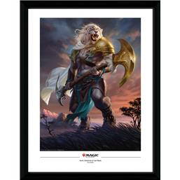 Magic the Gathering: Ajani Strength of the Pride Framed Poster 45 x 34 cm