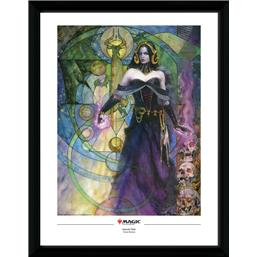 Magic the Gathering: Liliana, Untouched by Death Framed Poster 45 x 34 cm