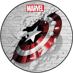 Captain America Shield Tæppe 80 cm