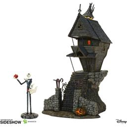 Nightmare Before Christmas: Jack Skellington's House  Statue 29 cm