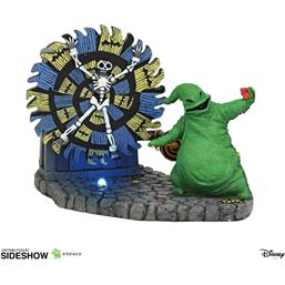 Oogie Boogie Gives a Spin Statue 11 cm