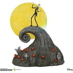 Nightmare Before Christmas: Jack on Spiral Hill Statue 23 cm