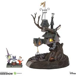 Nightmare Before Christmas: Lock, Shock & Barrel Treehouse Statue 27 cm