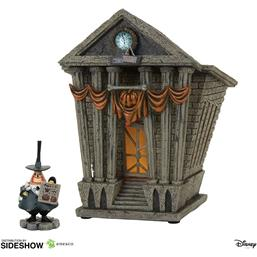 Nightmare Before Christmas: Halloween Town City Hall Statue 22 cm
