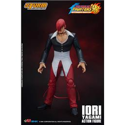 King of Fighters: Iori Yagami Ultimate Match Action Figure 1/12 17 cm