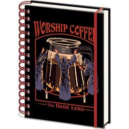 Steven Rhodes: Worship Coffee A5 Notesbog
