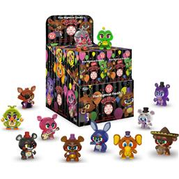 Five Nights at Freddy's (FNAF): Pizza Simulator Mystery Minis Vinyl Mini Figurer 6 cm (GITD) 12-pak