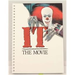 IT: Stephen King's It 1990 Movie Poster Notesbog