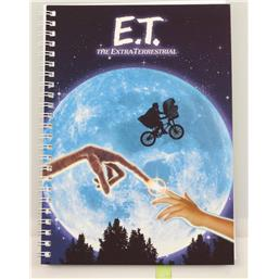 E.T. Movie Poster Notesbog