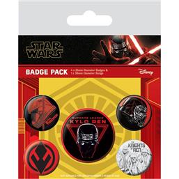 Star Wars: Sith Badges 5-Pak