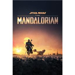 The Mandalorian Dusk Plakat