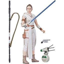 Rey & D-O Black Series Action Figure 2019 15 cm