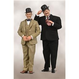 Laurel & Hardy Classic Suits Limited Edition Action Figure 2-Pack 1/6 30-33 cm