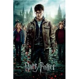 And The Deathly Hallows Part 2 plakat
