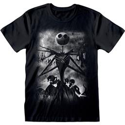 Jack Skellington Stormy Skies T-Shirt