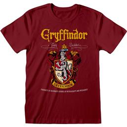 Harry Potter: Gryffindor Red Crest T-Shirt