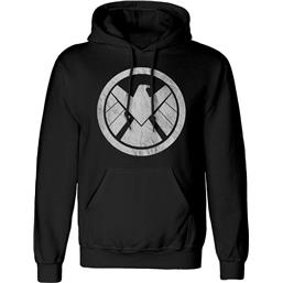 Avengers: Shiled Distressed Logo Hooded Sweater