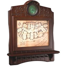 Bag End Map Key Holder