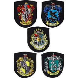 Harry Potter Patches 5-Pak House Crests
