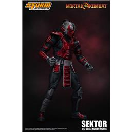Mortal Kombat: Sektor Action Figure 1/12 18 cm