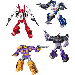 Transformers Generations War for Cybertron Action Figures Deluxe 4-Pack
