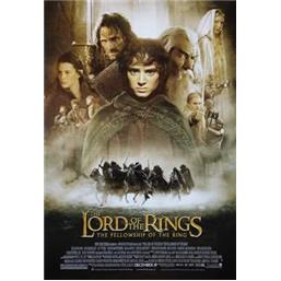 Lord Of The Rings: The Fellowship Of The Ring plakat