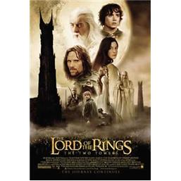 Lord Of The Rings: The Two Towers Plakat