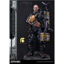 Death Stranding: Sam Porter Bridges Black Label Statue 1/2 106 cm