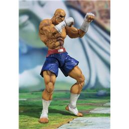 Street Fighter: Sagat Tamashii Web Exclusive S.H. Figuarts Action Figure 17 cm