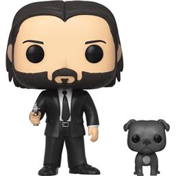 John Wick in Black Suit with Dog POP! Movies Vinyl Figur