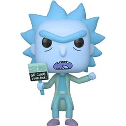 Hologram Rick Clone POP! Animation Vinyl Figur