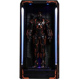 Iron Man: Diorama Neon Tech War Machine Hall of Armor MMS Compact Series 12 cm