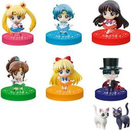 Sailor Moon: Puchitto Oshioki yo! 2020 Petit Chara Trading Figure 5 cm  6-Pack
