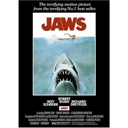 Original Jaws plakat