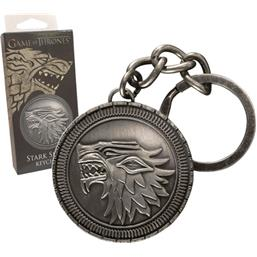 Game Of Thrones: Stark Shield Nøglering