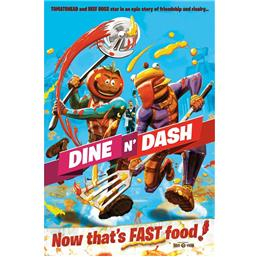 Fortnite: Dine N' Dash Plakat