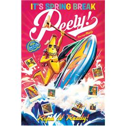 Spring Break Peely Plakat