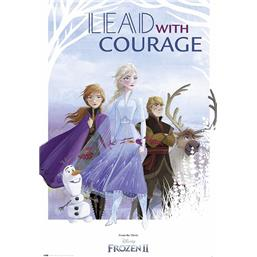 Lead With Courage Plakat