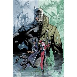 Batman Hush Plakat