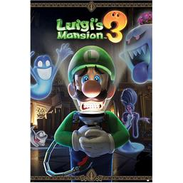 Luigi's Mansion 3: You're in for a Fright Plakat