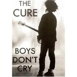 Cure: Boys don´t cry plakat