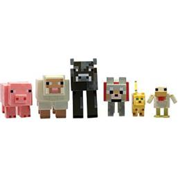 Minecraft: Minecraft Action Figure 5-Pak Animals