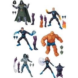 Fantastic Four Marvel Legends Series Action Figures 15 cm 6+1 Pack