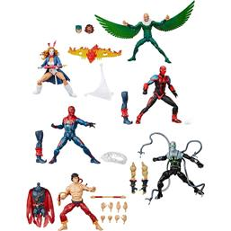 Spider-Man Marvel Legends Series Action Figures 15 cm 6+1 Pack