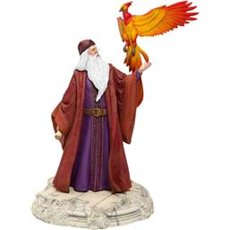 Dumbledore with Fawkes Statue 30 cm