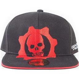 Gears Of War Red Helmet Snapback Cap