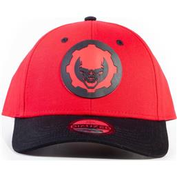 Gears Of War Hydro Red Omen Baseball Cap
