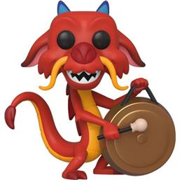 Mushu w/Gong POP! Movies Vinyl Figur (#630)