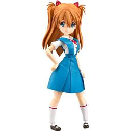 Asuka Shikinami Langley School Uniform Ver. Action Figure 14 cm