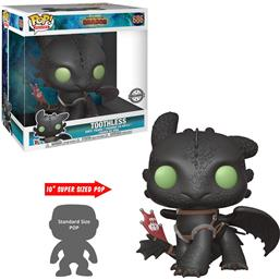 Toothless Super Sized POP! Vinyl Figur 25 cm (#686)